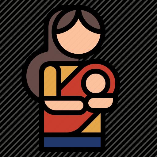 mother, pregnant icon