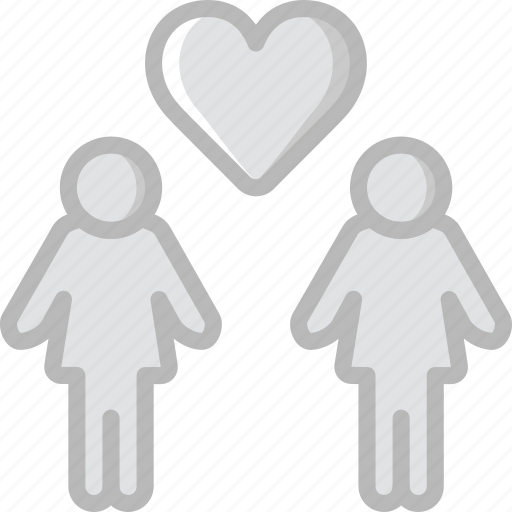 family, home, lesbian, love, people icon