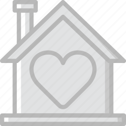 family, home, love, people icon