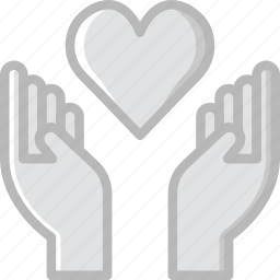 family, heart, home, people icon