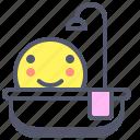 bath, care, shower, wash icon