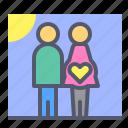 members, newborn, photo, picture, pregnancy icon