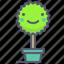 bonsai, eco, green, plant, treepot icon