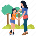 baby and mother, baby care, baby play time, motherhood, mothers love icon