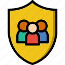 family, home, people, protection icon