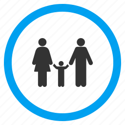 child, human family, kid, men, parents, people, user group icon