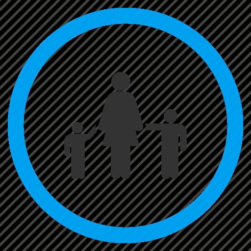 children, gentleman, kids, man, mother, person, user icon