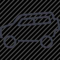 auto, car, family, speed, transport icon