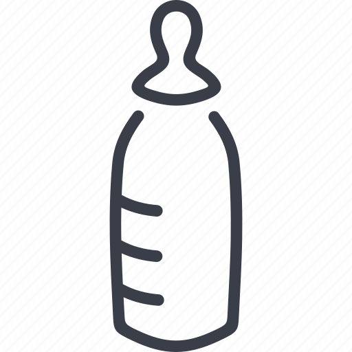 child, family, feeding-bottle, nipple icon