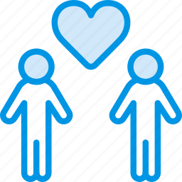 family, gay, home, love, people icon