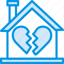 broken, family, home, love, people icon