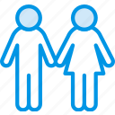 couple, family, home, people icon