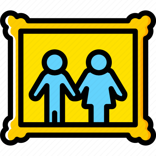 couple, family, home, people, portrait icon