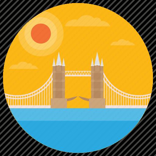 london bridge, monument, tower bridge, uk landmark, world landmark icon