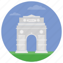 delhi gate, famous arch, famous places, india gate, india monuments icon
