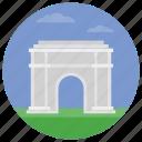 arc de triomf, barcelona arch, catalonia arch, spain monument, world famous icon