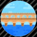 overpass, footbridge, flyover, poant de barcy, bridge