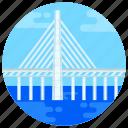 overpass, footbridge, flyover, oresund bridge, bridge