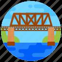 overpass, footbridge, flyover, straw bridge, bridge