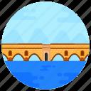 overpass, flyover, bridge, roman bridge, kemer bridge turkey
