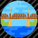 overpass, footbridge, flyover, bridge, hartland covered