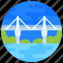 overpass, footbridge, flyover, bridge, puente pumarejo