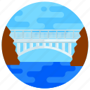 overpass, footbridge, flyover, bridge, mike o'callaghan-pat
