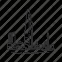 buildings, city, famous city, famous skyline, seoul, skyline, south korea icon