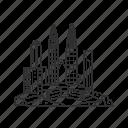 building, city, famous city, famous skyline, kuala lumpur, malaysia, skyline icon