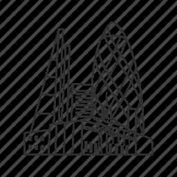 building, city, city of london, famous city, famous skyline, london, skyline icon