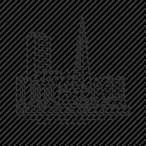 building, california, city, famous city, famous skyline, san francisco, skyline icon