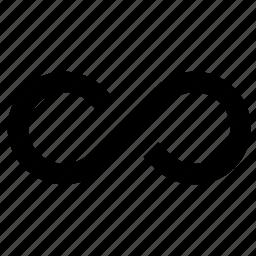 cycle, infinite, infinity, loop, looping icon