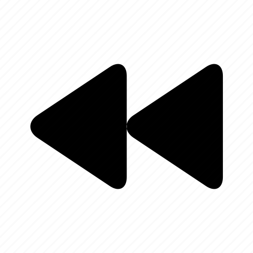 backward, control, left, prev, previous icon