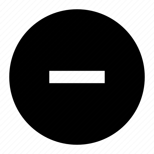 subtract icon