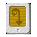 file, desert, tail icon