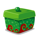 box, green icon