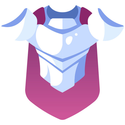 armor, fantasy, item, knight, medieval, rpg, warrior icon
