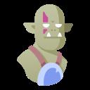 creature, fantasy, monster, ogre, orc, troll
