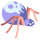creature, danger, fantasy, insect, poison spider, toxic, venom icon