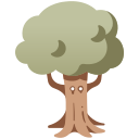 character, treant, tree, fantasy, wood, cartoon, creature