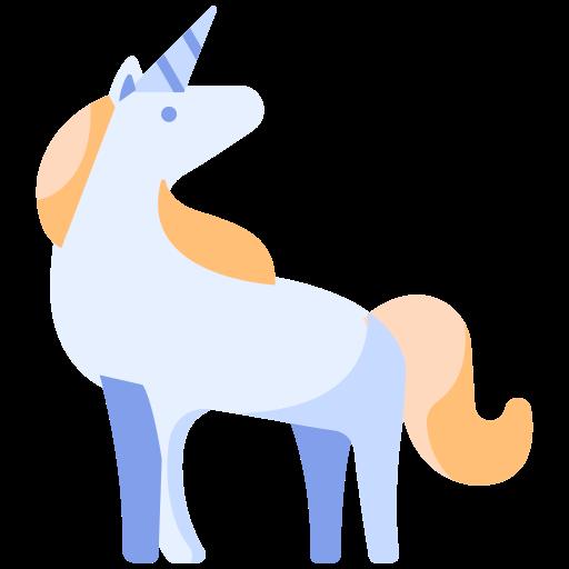 animal, cartoon, fairytale, fantasy, horse, magic, unicorn icon
