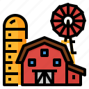 agricultural, farm, farming, field icon