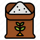 farming, fertilizer, gardening, seed icon