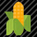 cereal, corn, food, vegetarian icon