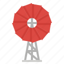 buildings, ecologic, energy, technology, windmill icon