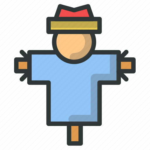 Farm, farmer, field, scarecrow icon - Download on Iconfinder