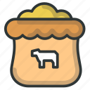 farm, feed, fertilizer icon
