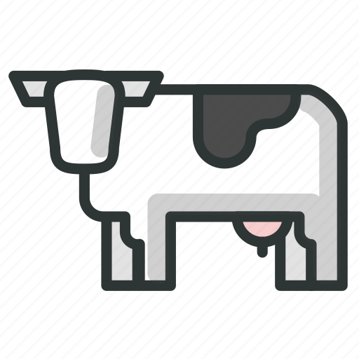 Animal, cow, farm, livestock, mammal icon - Download on Iconfinder