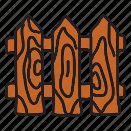 arrow, farm, fence, wood icon