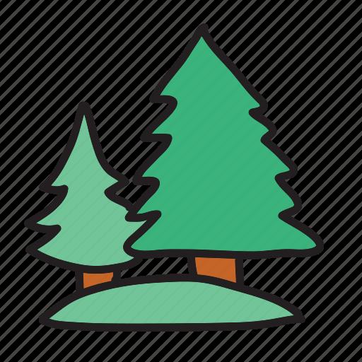 farm, forest, park, tree, trees icon